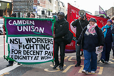 2019-02-09 NSL workers march against low pay