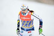DAVOS, SCHWEIZ - 2016-12-09: Anna Haag under tr&auml;ning inf&ouml;r Viessmann FIS Cross Country World Cup den 9 december, 2016 i Davos, Schweiz. Foto: Nils Petter Nilsson/Ombrello<br /> ***BETALBILD***