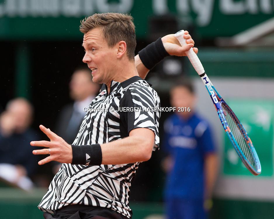 Tomas Berdych (CZE)<br /> <br /> Tennis - French Open 2016 - Grand Slam ITF / ATP / WTA -  Roland Garros - Paris -  - France  - 2 June 2016.