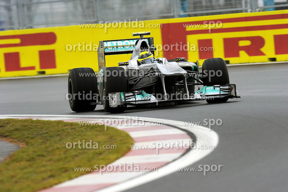 14.10.2011, Korea-International-Circuit, Yeongam, KOR, F1, Großer Preis von Südkorea, Yeongam, im Bild Nico Rosberg (GER), Mercedes GP // during the Formula One Championships 2011 Large price of Korea held at the Korea-International-Circuit, 2011-10-14  EXPA Pictures © 2011, PhotoCredit: EXPA/ nph/  Dieter Mathis        ****** only for AUT, POL & SLO ******