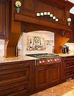 Custom Kitchen by Rich Mazzella Builders
