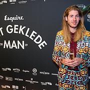 NLD/Amsterdam/20191114 - Uitreiking Esquires Best Geklede Man 2019,<br /> Frank van der Lende