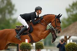De Winter Jeroen, BEL, Cleopatra Z<br /> Belgisch Kampioenschap Young Riders<br /> Azelhof - Koningshooikt 2018<br /> © Dirk Caremans<br /> 13/05/2018