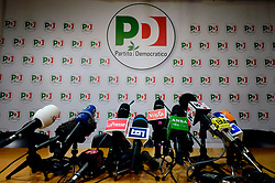 Press conference of Matteo Renzi a day after Italy's general elections at Pd headquarters on March 05, 2018, Italy. Christian Mantuano / OneShot