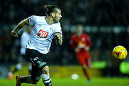 Bradley Johnson of Derby County during the Sky Bet Championship match at the iPro Stadium, Derby<br /> Picture by Andy Kearns/Focus Images Ltd 0781 864 4264<br /> 24/02/2016
