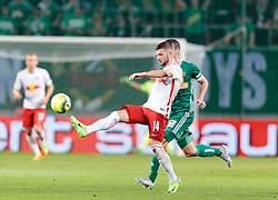 01.06.2017, Woerthersee Stadion, Klagenfurt, AUT, OeFB Samsung Cup, SK Rapid Wien vs FC Red Bull Salzburg, Finale, im Bild v.l. Valon Berisha (FC Red Bull Salzburg), Tamas Szanto (SK Rapid Wien) // during the Final Match of the Austrian Samsung Cup between SK Rapid Wien and FC Red Bull Salzburg at the Woerthersee Stadion in Klagenfurt, Austria on 2017/06/01. EXPA Pictures © 2017, PhotoCredit: EXPA/ Johann Groder