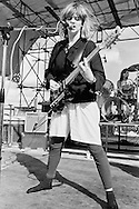 Gina Birch, The Raincoats, Alexandra Palace, London 15-06-1980