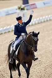 Fassaert Claudia (BEL) - Donnerfee<br /> PSI FEI European Championships Dressage - Herning 2013<br /> © Dirk Caremans