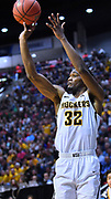 SAN DIEGO, CA - MARCH 16:  Markis McDuffie #32 of the Wichita State Shockers shoots against the Marshall Thundering Herd during a first round game of the Men's NCAA Basketball Tournament at Viejas Arena in San Diego, California. Marshall won 81-75.  (Photo by Sam Wasson)