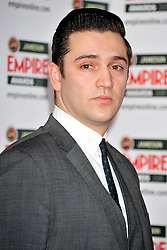 © under license to London News Pictures. 27/03/11. Reg Traviss attends the Jamesons Empire Film Awards , Sunday 27th March 2011 at the Grosvenor House Hotel, Park Lane, London. Photo credit should read ALAN ROXBOROUGH /LNP