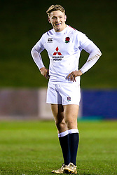 Connor Doherty of England U20 - Mandatory by-line: Robbie Stephenson/JMP - 22/02/2019 - RUGBY - Zip World Stadium - Colwyn Bay, Wales - Wales U20 v England U20 - Under-20 Six Nations