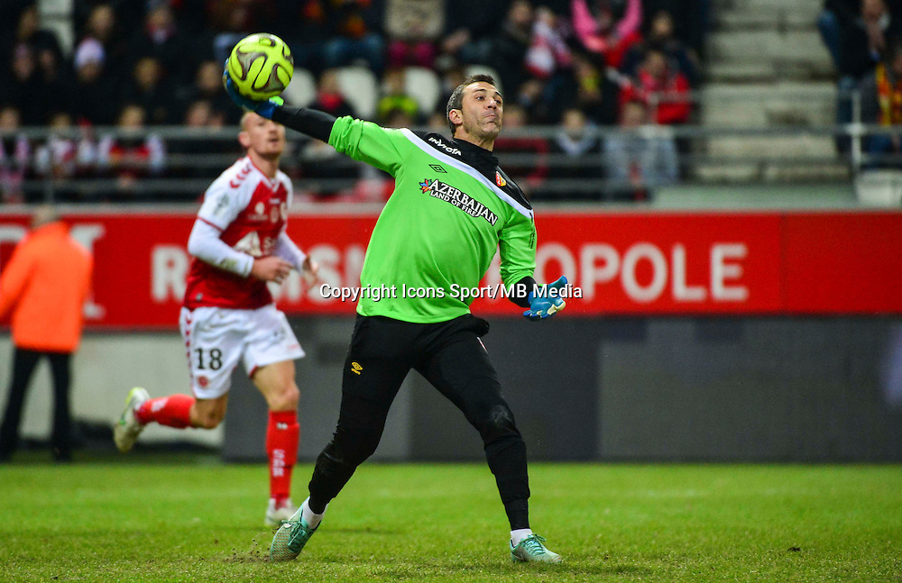 Rudy RIOU - 25.01.2015 - Reims / Lens  - 22eme journee de Ligue1<br /> Photo : Dave Winter / Icon Sport *** Local Caption ***
