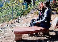 30-9-2016  Hykjeberget  sweden - Prince Carl Philip, Princess Sofia  Attendance at the opening of Hykjeberget Nature Reserve. Inauguration of the Hykjeberg nature reserve by Dalarna&acute;s Governor Ylva Th&ouml;rn. She will also present the gift that Dalarna gave the royal couple on their wedding day &ndash; a bench in the typical red &Auml;lvdalen sandstone.   COPYRIGHT ROBIN UTRECHT<br /> 30-9-2016 Hykjeberget sweden - Prins Carl Philip, Prinses Sofia Aanwezigheid bij de opening van Hykjeberget Nature Reserve. Inhuldiging van de Hykjeberg natuurgebied door Dalarna Gouverneur Ylva Th&ouml;rn. een bank in de typische rode zandsteen &Auml;lvdalen - zij zal ook het geschenk dat Dalarna gaf het koninklijk paar op hun huwelijksdag te presenteren. COPYRIGHT ROBIN UTRECHT prins , prinses , zweden
