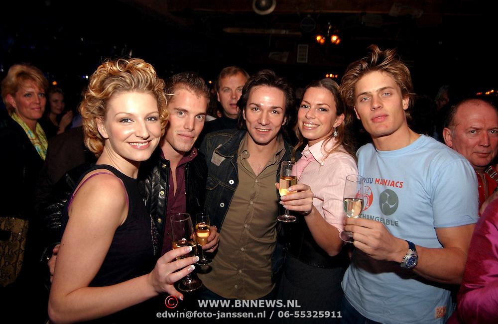 Uitreiking populariteitsprijs Noord Holland, Winston Post, Spiros Chalos en Venga Boys