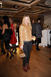 NATALIE PRESS at a dinner hosted by jewellers Damiani at The Connaught Hotel, London on 3rd February 2010.