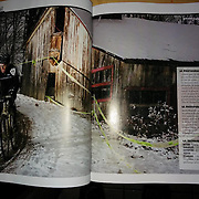 Double truck in Velo Mag 2014
