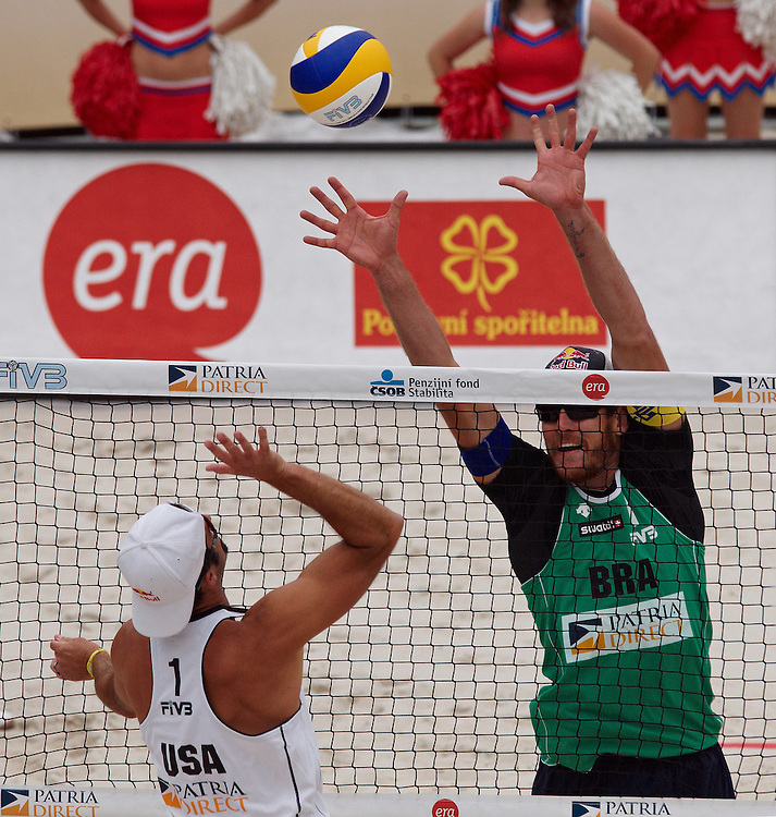 Swatch FIVB Patria Direct Open 2010 - USA vs BRA