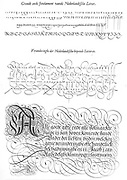 Examples of handwriting by the great Dutch scribe jan van der velde 1568-1623