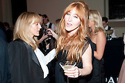 Hannah MacGibbon; Charlotte Tilbury, Harpers Bazaar Women of the Year Awards. North Audley St. London. 1 November 2010. -DO NOT ARCHIVE-© Copyright Photograph by Dafydd Jones. 248 Clapham Rd. London SW9 0PZ. Tel 0207 820 0771. www.dafjones.com.