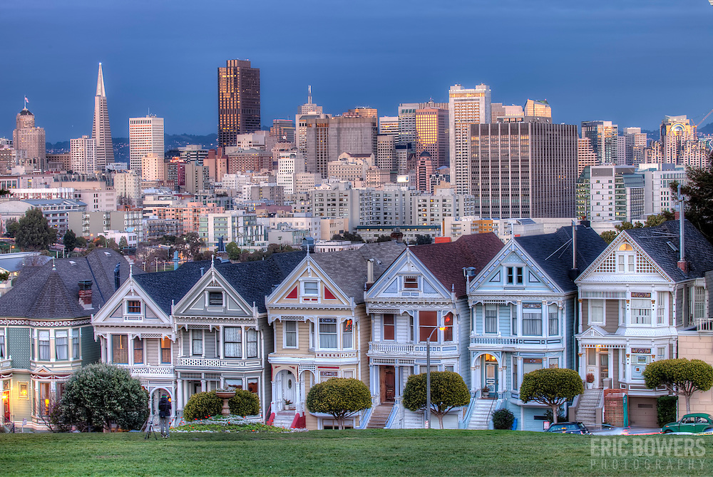 painted ladies san francisco eric bowers photo. Black Bedroom Furniture Sets. Home Design Ideas
