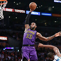 03-29 CHARLOTTE HORNETS AT LA LAKERS