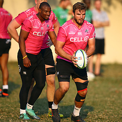 Tyler Paul of the Cell C Sharks during the Cell C Sharks training, Jonsson Kings Park Stadium,Durban South Africa.27,06,2018 Photo by (Steve Haag REX Shutterstock )