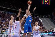 DESCRIZIONE: Torino FIBA Olympic Qualifying Tournament Finale Italia - Croazia<br /> GIOCATORE: Alessandro Gentile<br /> CATEGORIA: Nazionale Italiana Italia Maschile Senior<br /> GARA: FIBA Olympic Qualifying Tournament Finale Italia - Croazia<br /> DATA: 09/07/2016<br /> AUTORE: Agenzia Ciamillo-Castoria