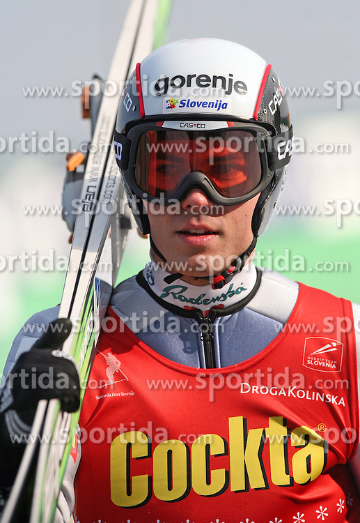 Jernej Damjan of SSK Costella Ilirija at Slovenian National Championship in Ski Jumping on February 12, 2008 in Kranj, Slovenia . (Photo by Vid Ponikvar / Sportal Images).