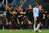 FOOTBALL - FIFA WORLD CUP 2010 - 1/4 FINAL - ARGENTINA v GERMANY - 3/07/2010 - JOY GERMANY AFTER THE KLOSE GOAL<br /> PHOTO FRANCK FAUGERE / DPPI