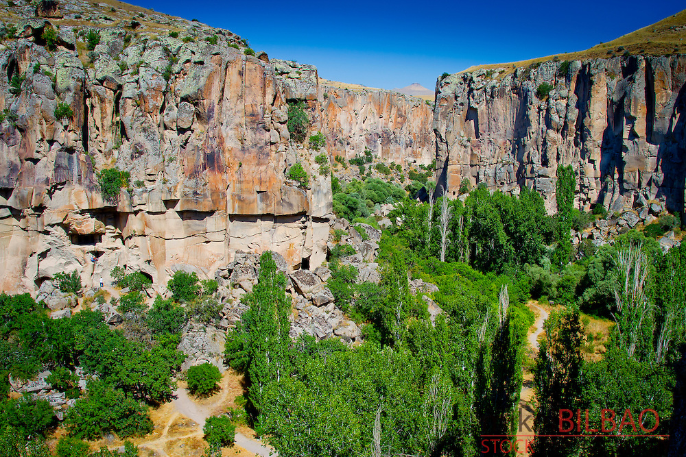 Ihlara Valley and Melendiz Stream. Aksaray province.<br />