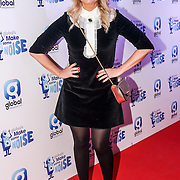 Emma Bunton attend gala night hosted by Global Radio to support its charity Make Some Noise. The charity awards grants to projects across the country to help children and young people affected by illness, disability, bereavement or lack of opportunity on 24th November 2016,London,UK. Photo by See Li