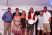 Heroina wins the Panerai trophy for Classic Yachts Challenge North American Circuit, Spirit of Tradition Class.