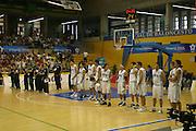 Giochi del Mediterraneo Almeria 2005<br /> azioni di gioco<br /> nella foto: team italia