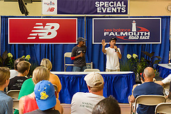 Falmouth Road Race: Meb Keflezighi and Dave McGillivray