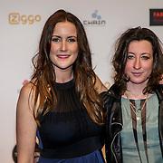 NLD/Amsterdam/20150302 - Uitreiking TV Beelden 2015, Evelien Bosch en .............