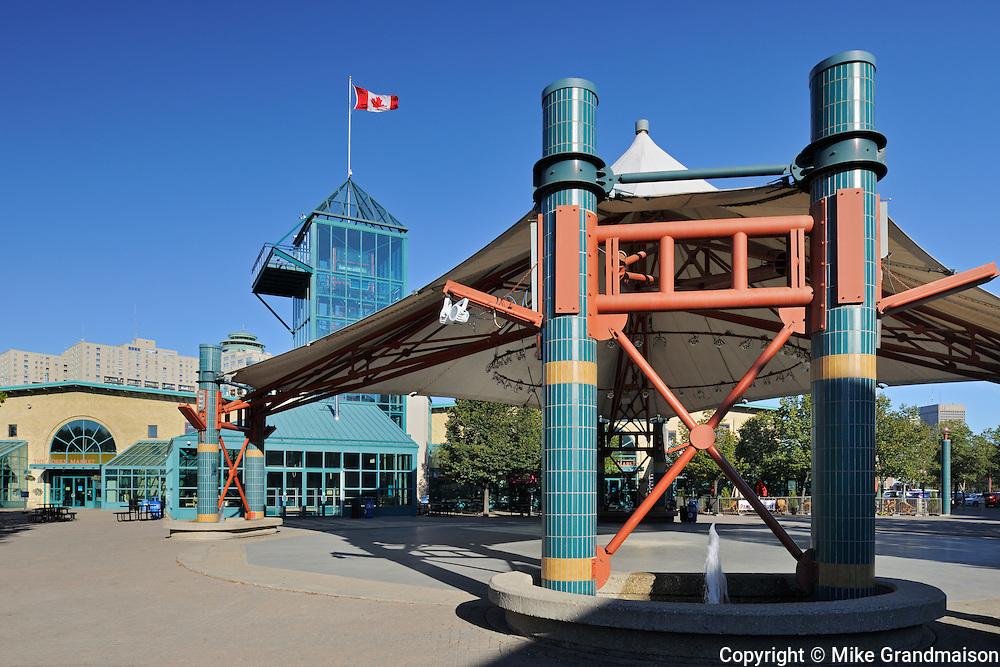 The Forks<br /> Winnipeg<br /> Manitoba<br /> Canada