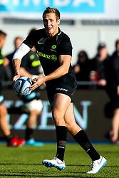 Max Malins of Saracens - Mandatory by-line: Robbie Stephenson/JMP - 17/11/2018 - RUGBY - Allianz Park - London, England - Saracens v Sale Sharks - Gallagher Premiership Rugby