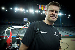 Miha Zupan of Slovenia during practice session of Team Slovenia at Day 3 in Group C of FIBA Europe Eurobasket 2015, on September 7, 2015, in Arena Zagreb, Croatia. Photo by Vid Ponikvar / Sportida