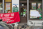 occupied Ströbele office