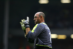 LIVERPOOL, ENGLAND - SUNDAY MARCH 27th 2005: Liverpool Legends' Bruce Grobbelaar during the Tsunami Soccer Aid match at Anfield. (Pic by David Rawcliffe/Propaganda)