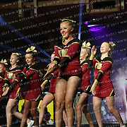 4048_ Yorkshire Martyrs Cheerleading Squad Gold Star Supreme