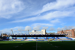 A general view of the BT Sport Cardiff Arms Park - Mandatory by-line: Dougie Allward/JMP - 04/02/2017 - RUGBY - BT Sport Cardiff Arms Park - Cardiff, Wales - Cardiff Blues v Worcester Warriors - Anglo Welsh Cup