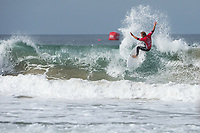 Huntington Beach, CA - August 06: Josh Kerr competes in a mens heat at the Vans US Open of Surfing in Huntington Beach, California on August 6th, 2017. (Photo Jim Kruger/Kruger-images.com)