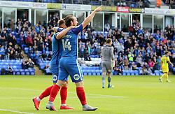 Jack Marriott of Peterborough United celebrates scoring the opening goal of the game - Mandatory by-line: Joe Dent/JMP - 30/09/2017 - FOOTBALL - ABAX Stadium - Peterborough, England - Peterborough United v Oxford United - Sky Bet League One