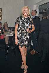 NOELLE RENO at The London Cabaret Club Gala Launch Party at The Collection, 264 Brompton Road, London on 8th May 2014.