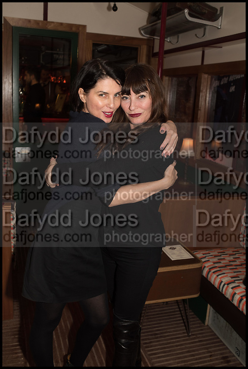 SADIE FROST; COLETTE COOPER, , Cahoots club launch party, 13 Kingly Court, London, W1B 5PW  26 February 2015