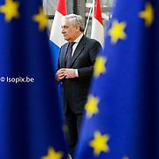 Antonio TAJANI - EP President meets with Donald TUSK - President of the European Council