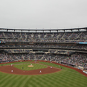 A panoramic view of Citi Field, Queens, the home of the New York Mets during the New York Mets V Arizona Diamondbacks Baseball game at Citi Field, Queens, New York. 5th May 2012. Photo Tim Clayton
