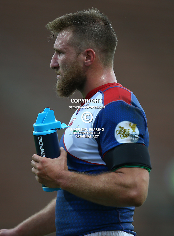 DURBAN, SOUTH AFRICA - APRIL 23: Johann Tromp of the Windhoek Draught Welwitschias during the Provincial Cup match between Cell C Sharks XV and Windhoek Draught Welwitschias at King Zwelithini Stadium on April 23, 2016 in Durban, South Africa. (Photo by Steve Haag/Gallo Images)