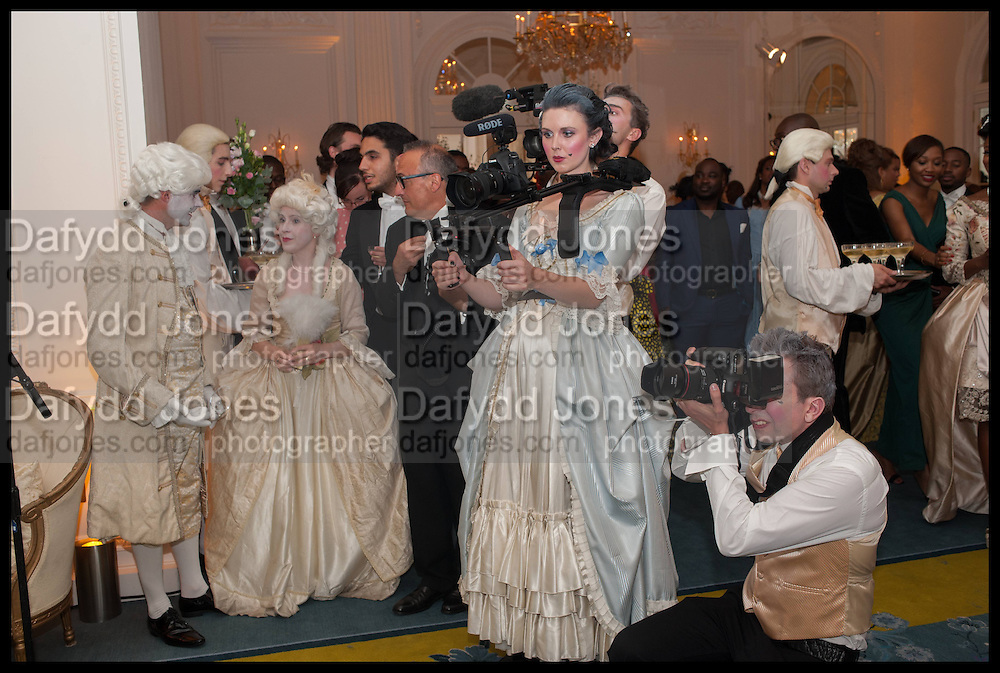 DAISY DICKINSON ( CAMERA ), Florence Heoluwa 'Cuppy' Otedola Marie Antoinette Graduation party. Mandarin Oriental, Knightsbridge25th of July 2014.